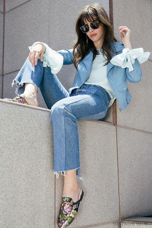 6 kiểu mặc đẹp mọi lúc mọi nơi với quần jeans - 12