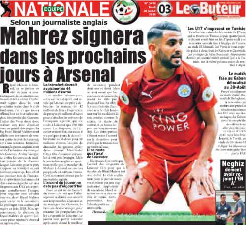 NÓNG: Mẹ Mahrez xác nhận con trai đến Arsenal - 2