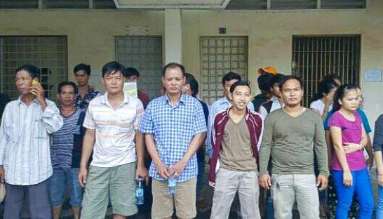 Cảnh sát Campuchia bắt 32 người Việt - 1
