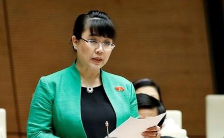 Bãi nhiệm đại biểu HĐND TP Hà Nội với bà Nguyệt Hường - 1