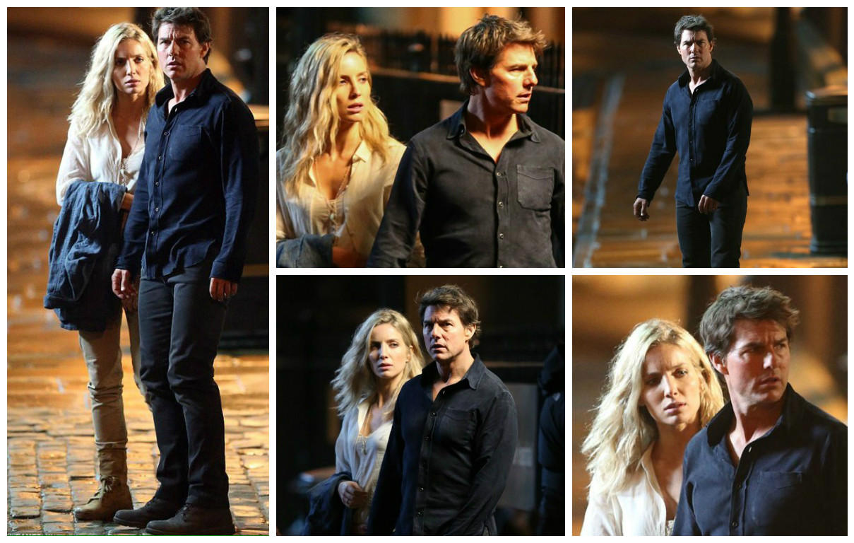 """Tom Cruise phong độ trên trường quay """"Xác ướp"""" - 5"""