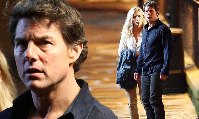"""Tom Cruise phong độ trên trường quay """"Xác ướp"""" - 3"""