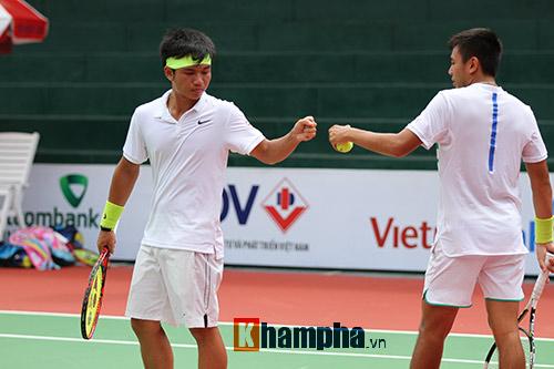 Hoàng Nam – Hoàng Thiên thắng hạt giống số 4 Men's Futures - 1