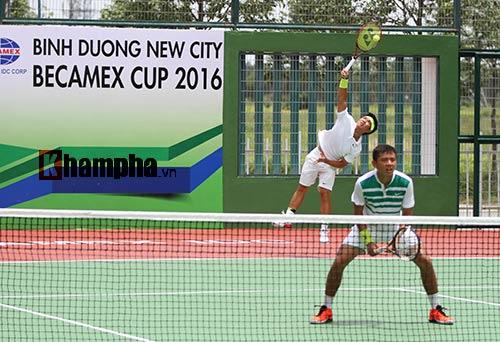 Hoàng Nam – Hoàng Thiên thắng hạt giống số 4 Men's Futures - 2