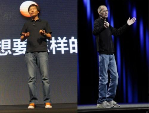 """""""Trùm"""" smartphone giá rẻ TQ với phong cách hệt Steve Jobs - 2"""