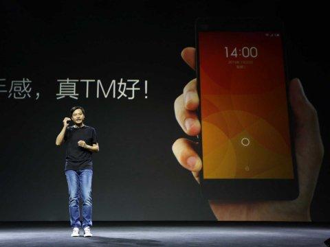 """""""Trùm"""" smartphone giá rẻ TQ với phong cách hệt Steve Jobs - 1"""