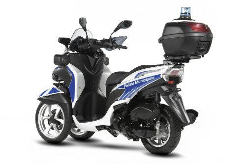 Yamaha ra mắt xe ga cảnh sát Tricity 125 chống tội phạm - 2