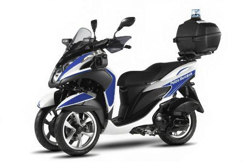 Yamaha ra mắt xe ga cảnh sát Tricity 125 chống tội phạm - 1