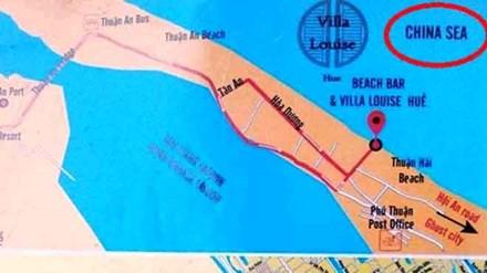 Thu giữ hàng trăm tờ bản đồ ghi sai tên biển của VN - 1