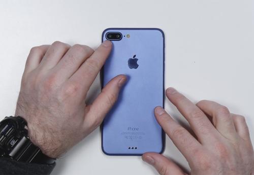 iPhone 7 Plus màu xanh mới, có máy ảnh kép - 1