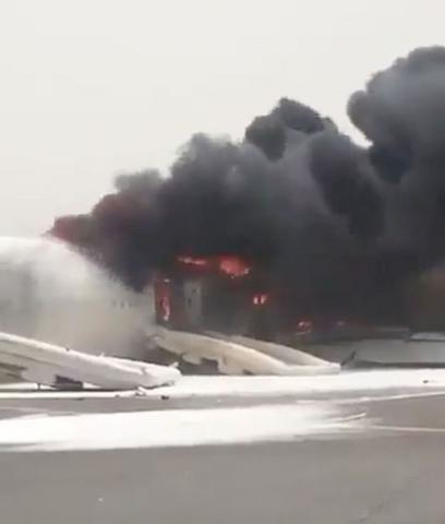 Lý do 300 người thoát nạn khi máy bay cháy dữ dội ở Dubai - 3