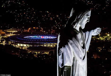 Hình ảnh đẹp ngỡ ngàng ở Rio trước lễ khai mạc Olympic - 4