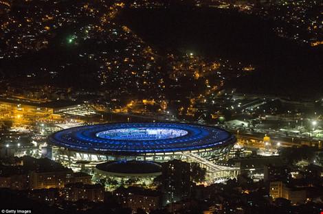 Hình ảnh đẹp ngỡ ngàng ở Rio trước lễ khai mạc Olympic - 5