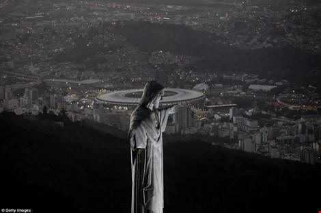 Hình ảnh đẹp ngỡ ngàng ở Rio trước lễ khai mạc Olympic - 7