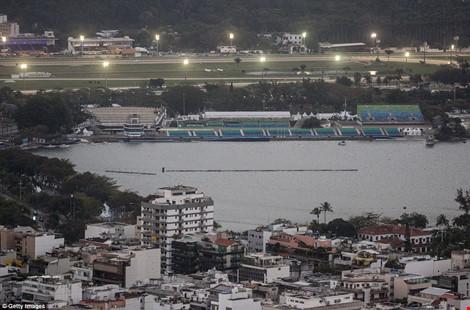 Hình ảnh đẹp ngỡ ngàng ở Rio trước lễ khai mạc Olympic - 8