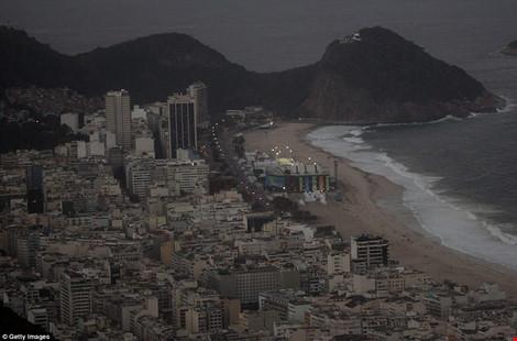 Hình ảnh đẹp ngỡ ngàng ở Rio trước lễ khai mạc Olympic - 9