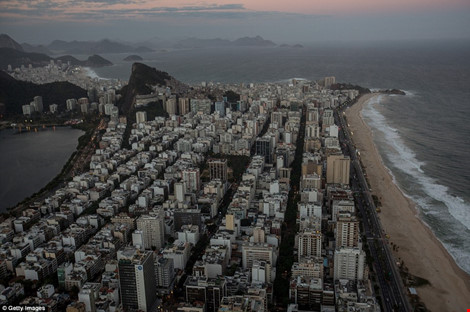 Hình ảnh đẹp ngỡ ngàng ở Rio trước lễ khai mạc Olympic - 10