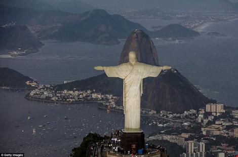 Hình ảnh đẹp ngỡ ngàng ở Rio trước lễ khai mạc Olympic - 6