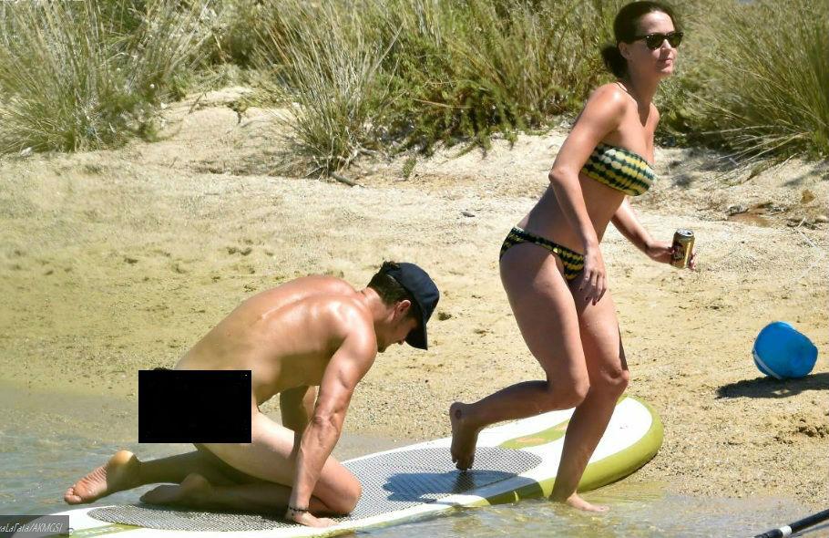 Orlando không mảnh vải che thân bên bạn gái Katy Perry - 2