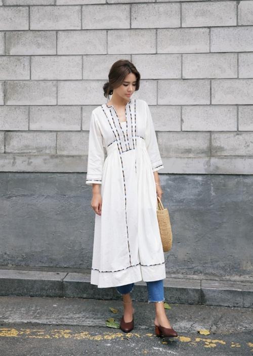Những cách mặc váy đẹp nhất định phải ghi nhớ - 4