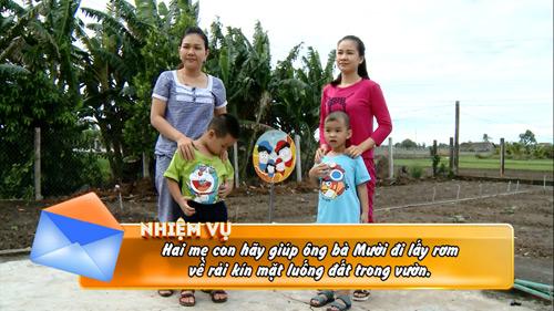 MC Xuân Hiếu, Ngọc Hương cùng con về quê làm nông dân - 1