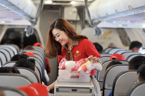 """Những cái """"nhất"""" khi bay Hàn, Đài cùng Vietjet - 1"""