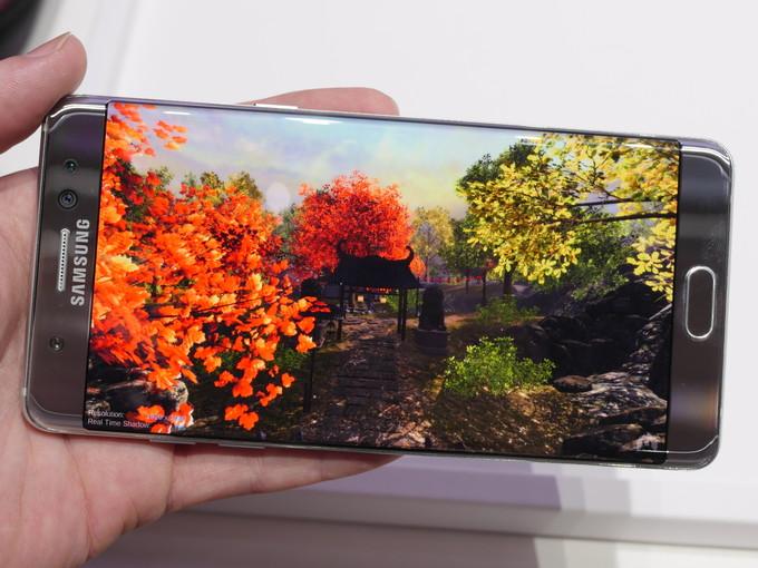 Samsung Galaxy Note 7 đọ hiệu năng với các siêu phẩm khác - 1