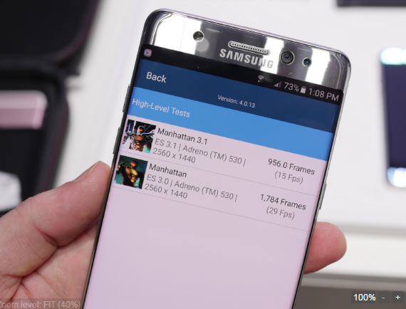 Samsung Galaxy Note 7 đọ hiệu năng với các siêu phẩm khác - 3