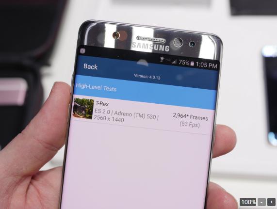 Samsung Galaxy Note 7 đọ hiệu năng với các siêu phẩm khác - 4