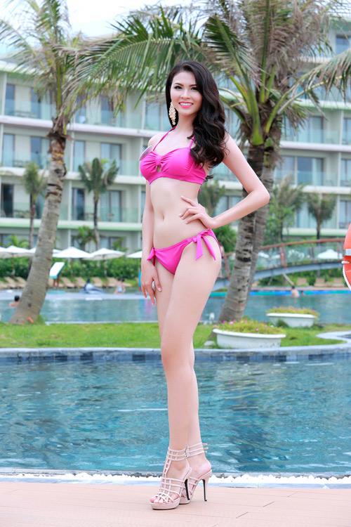 Người đẹp Biển Hoa hậu Bản sắc Việt tung ảnh bikini - 1
