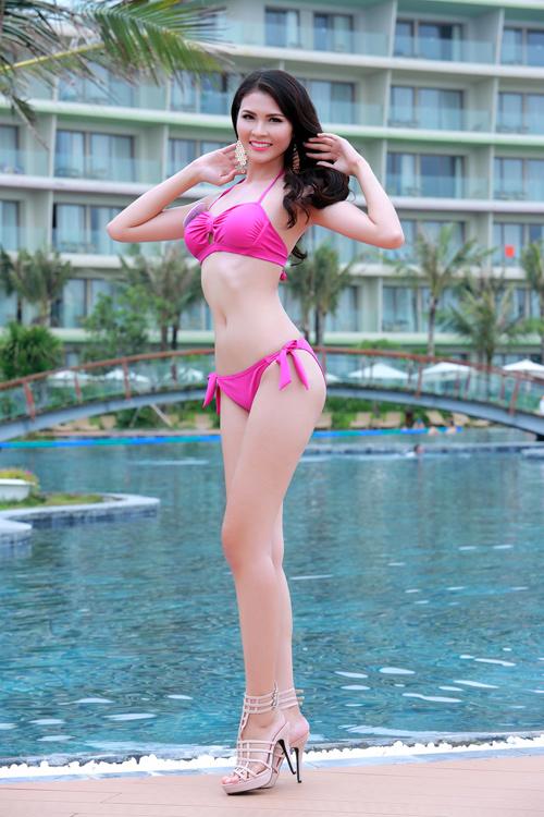 Người đẹp Biển Hoa hậu Bản sắc Việt tung ảnh bikini - 3