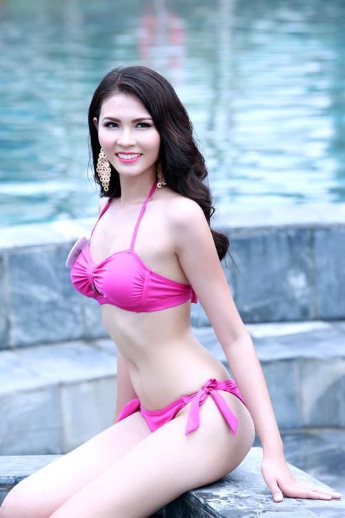 Người đẹp Biển Hoa hậu Bản sắc Việt tung ảnh bikini - 9