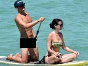Orlando không mảnh vải che thân bên bạn gái Katy Perry