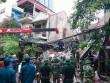 Hà Nội: Sập nhà phố cổ, ít nhất 5 người mắc kẹt