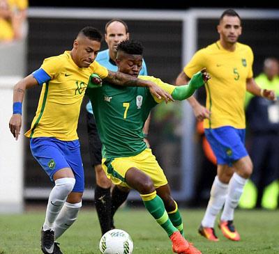 Chi tiết O.Brazil – O.Nam Phi: Chống đỡ kiên cường (KT) - 4