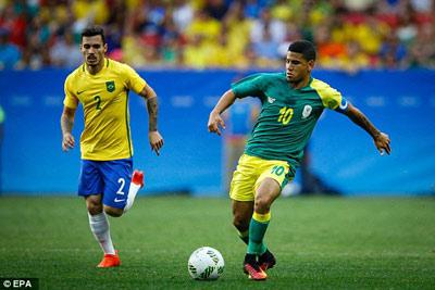 Chi tiết O.Brazil – O.Nam Phi: Chống đỡ kiên cường (KT) - 5