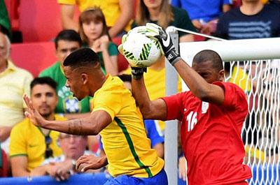 Chi tiết O.Brazil – O.Nam Phi: Chống đỡ kiên cường (KT) - 7