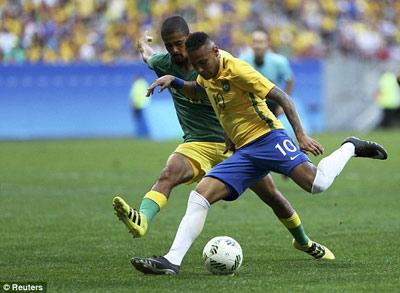 Chi tiết O.Brazil – O.Nam Phi: Chống đỡ kiên cường (KT) - 8