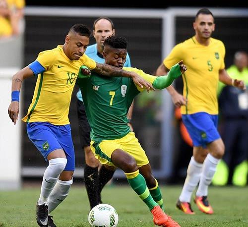 Brazil - Nam Phi: Áp lực đè nặng - 1