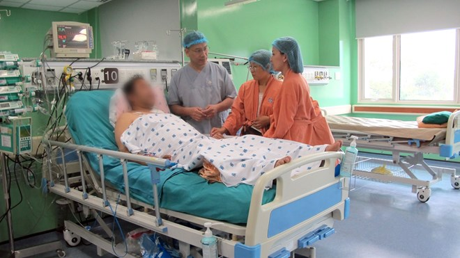 Chạy đua trong đêm cứu sống bệnh nhân người Nhật mắc bệnh hiếm gặp - 1