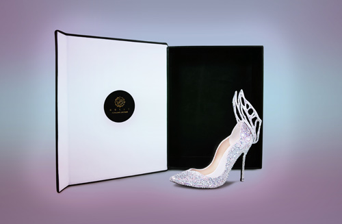 Chiêm ngưỡng thiết kế giày đặc biệt dành cho tân HHVN 2016 - 4
