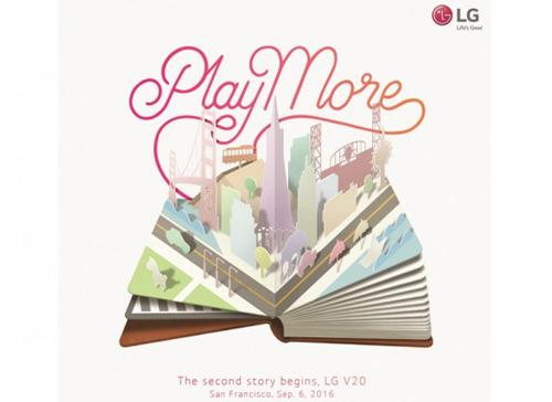 LG gửi thư mới sự kiện LG V20, lộ cấu hình cao cấp - 2