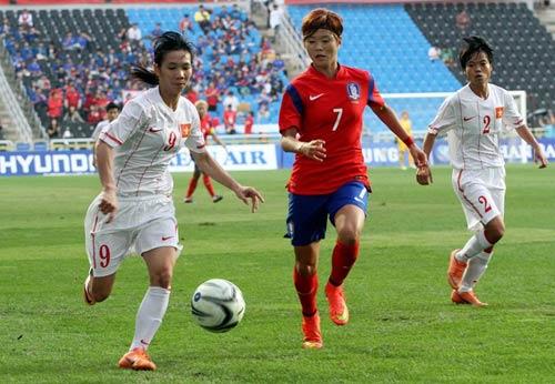 ĐT nữ Việt Nam - Hàn Quốc: Đẳng cấp chênh lệch - 1