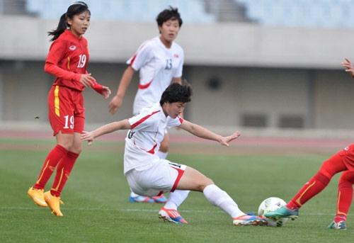 ĐT nữ Việt Nam - ĐT Triều Tiên: Định đoạt ở phút bù giờ - 1