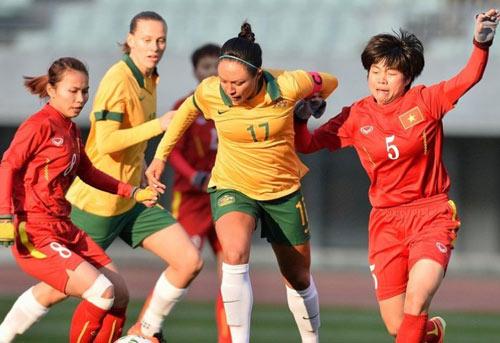 """ĐT nữ Việt Nam thành """"rổ đựng bóng"""" trước Australia - 1"""