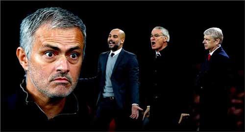 HLV giàu thành tích nhất ở NHA : Pep thách thức Mourinho - 1