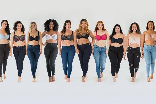 10 nàng béo lọt chung kết ngôi sao đồ lót - 1