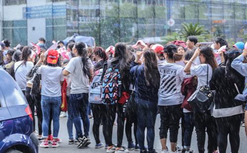 Fan Việt đội mưa đón cô gái xinh đẹp nhất nhóm 2NE1 - 2