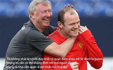 Rooney: Mourinho xuất sắc nhất, Sir Alex vĩ đại nhất - 1