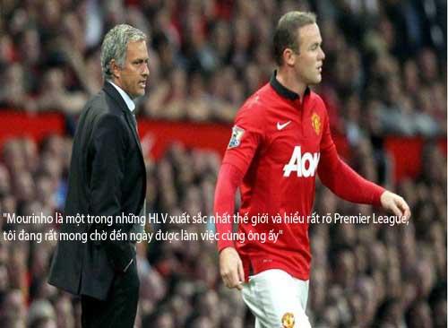 Rooney: Mourinho xuất sắc nhất, Sir Alex vĩ đại nhất - 4